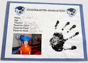kindergarten graduation diploma kodak moments