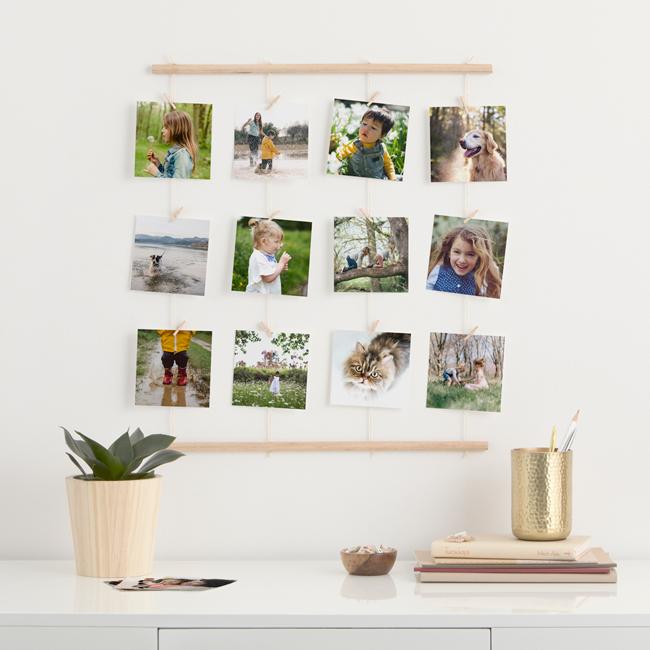 Springtime DIY: Modern Photo Hanger – Kodak Moments